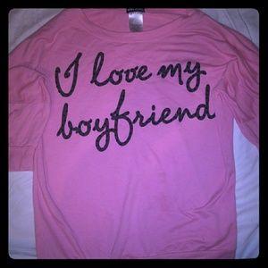 Boyfriend hoodie dress shirt